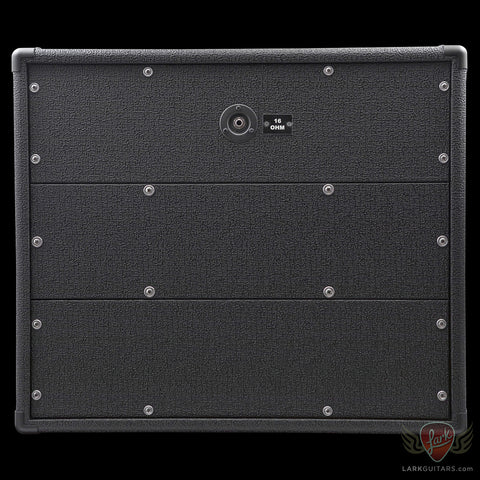 Dr. Z Backline 2x12 Cabinet w/Celestion Vintage 30 & G12H30 - Black w/ZWreck (007) - Available at Lark Guitars