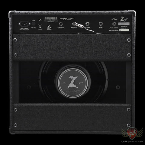 Dr. Z Cure 15-watt 1x12 Combo - Black w/ZWreck Grill (235) - Available at Lark Guitars