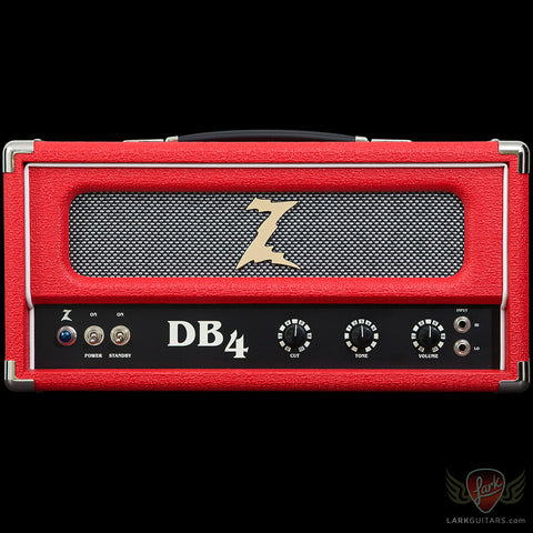Dr. Z DB4 Head - Red w/Salt & Pepper Grill (051)