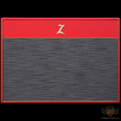 Dr. Z DB4 2x12 Bluesbreaker Combo - Red w/Z-Wreck Grill (052), Dr. Z Amplification - Lark Guitars