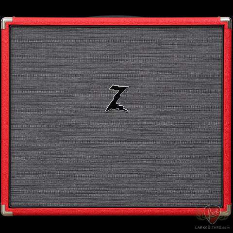 zSOLD - Dr. Z 1x12 Extension Cabinet w/G12M Creamback - Red w/Z Wreck Grill (003), Dr. Z Amplification - Lark Guitars