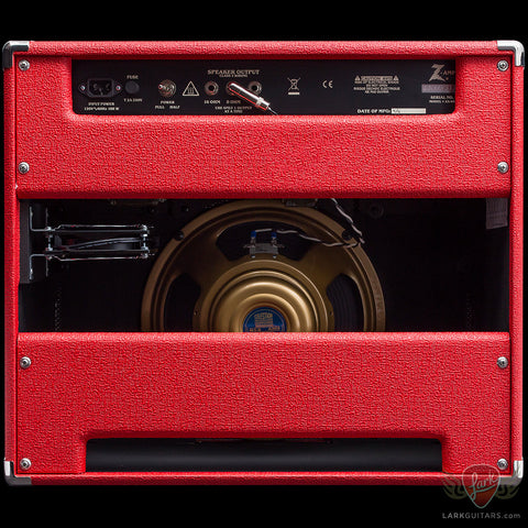 Dr. Z DB4 1x12 Classic-Lite Combo - Red w/Salt & Pepper Grill (01H), Dr. Z Amplification - Lark Guitars