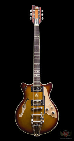 Duesenberg Joe Walsh Signature - Gold Burst (223) - Available at Lark Guitars