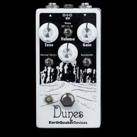 EarthQuaker Devices Dunes - Mini Ultimate Overdrive