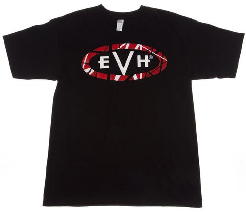 EVH Logo T-Shirt - Black - Medium - Available at Lark Guitars