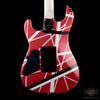EVH Striped Series 5150 - Red, Black, & White Stripes (216) - Available at Lark Guitars
