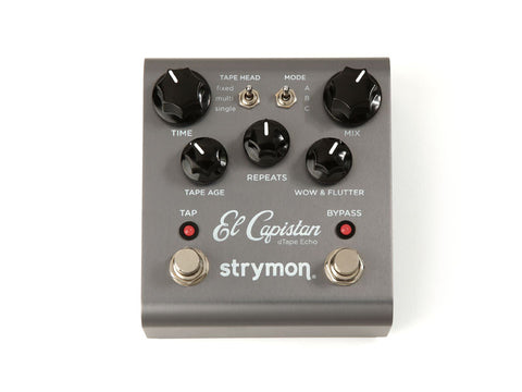 Strymon El Capistan dTape Echo - Available at Lark Guitars