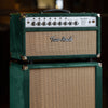 Two-Rock Classic Reverb Signature 100/50 Head and 2x12 Cabniet  - Forest Green Suede with Tan Grille