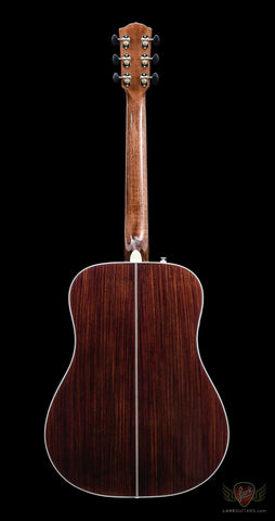 Fender Paramount PM-1 Deluxe Dreadnought - Vintage Sunburst (453) - Available at Lark Guitars