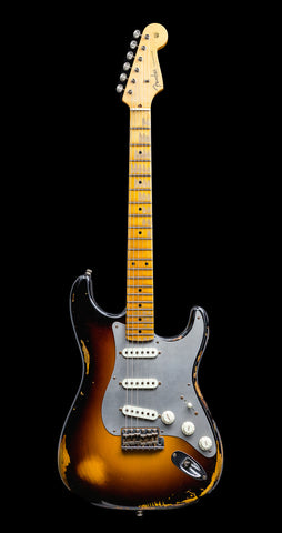 Fender Custom Shop Limited Edition El Diablo Stratocaster Heavy Relic - 2-Color Sunburst (729)