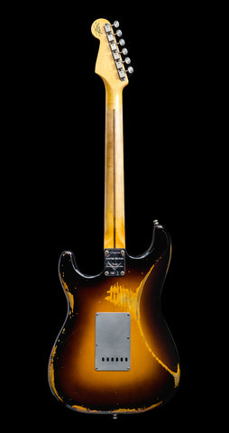 Fender Custom Shop Limited Edition El Diablo Stratocaster Heavy Relic - 2-Color Sunburst (729) - Available at Lark Guitars