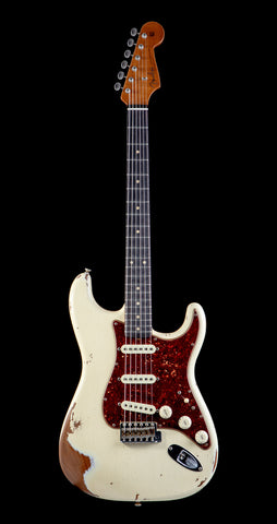 Fender Custom Shop Limited '60 Roasted Strat, Heavy Relic - Aged Vintage White (611)