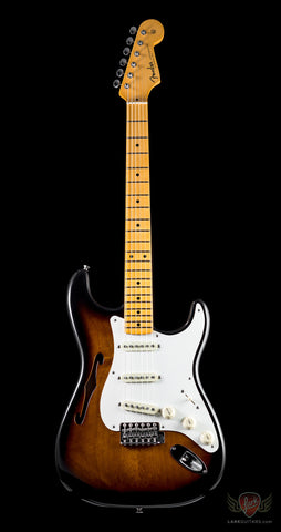 ERIC JOHNSON SIGNATURE STRATOCASTER THINLINE TWO COLOR BURST (219)