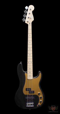 zSOLD - Fender Deluxe Active Precision Bass Special MN - Black (369)