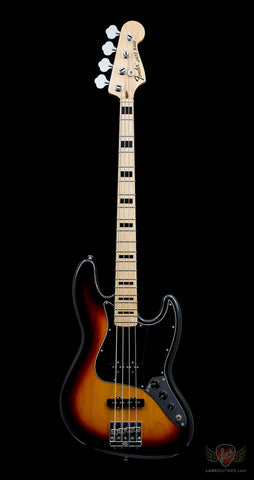 zSOLD - Pre-Owned Fender Geddy Lee Signature Jazz Bass - 3-Color Sunburst (015)