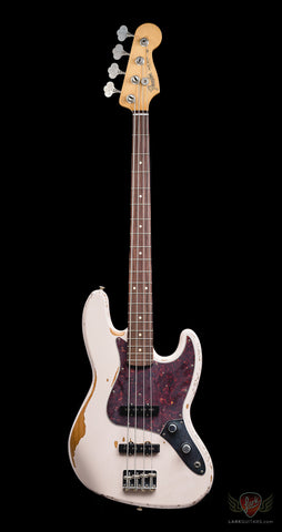 Fender Flea Signature Jazz Bass - Road Worn Shell Pink (183)