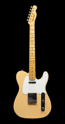 Fender Custom Shop '50s Telecaster Relic w/ 1-Piece LW Ash Body - Nocaster Blonde (910)