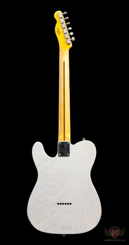 Pre-Owned Fender Custom Shop '50s Telecaster Relic w/1-Piece LW Ash Body - White Blonde (518)