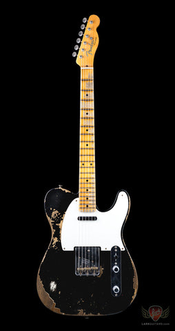 Fender Custom Shop 1952 Telecaster Heavy Relic - Black (462)