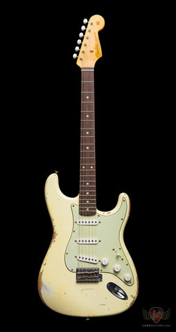 Fender Custom Shop 1960 Stratocaster Heavy Relic - Vintage White (909A)