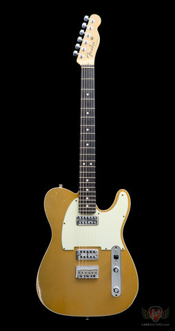 Fender Custom Shop Double TVJ Telecaster Relic - Gold Top (958), Fender Custom Shop - Lark Guitars