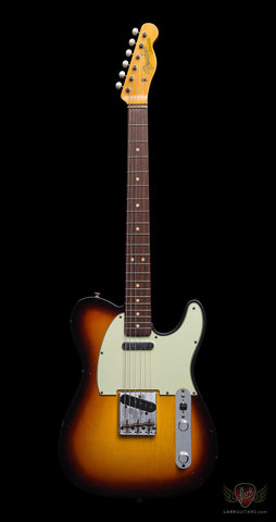 Fender Custom Shop 1963 Journeyman Telecaster Relic - Faded 3-Color Sunburst (569)
