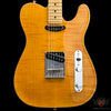 Fender American Select Flame Maple Carved Top Telecaster - Amber (655), Fender - Lark Guitars