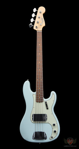 Fender American Vintage '63 Precision Bass - Faded Sonic Blue - DEMO (198)