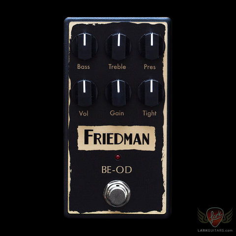 Friedman Amplification BE-OD Brown Eye Overdrive/Distortion Pedal