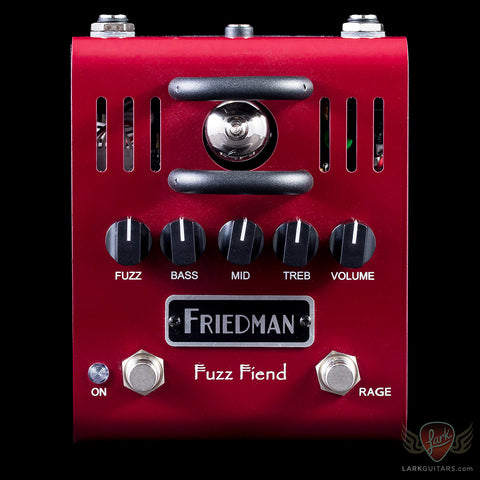 Friedman Amplification Fuzz Fiend - Available at Lark Guitars