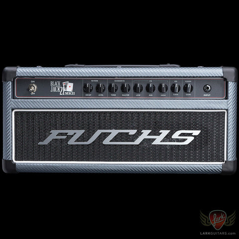 Fuchs Blackjack-21 MkII Head - Charcoal Carbon Fiber w/Black Grill (092)
