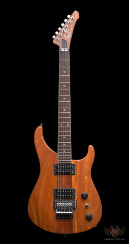 GJ2 Grover Jackson Arete 4 Star Mahogany - Natural (580) - Available at Lark Guitars