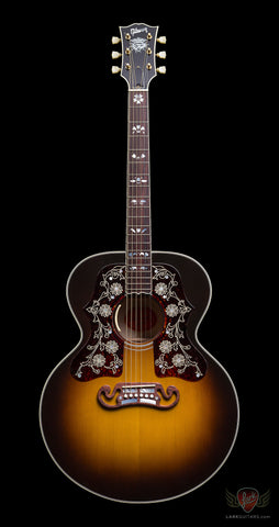 Gibson Custom Shop 2015 Limited Run SJ-200 Custom Bob Dylan Player's Edition - Vintage Sunburst (041)