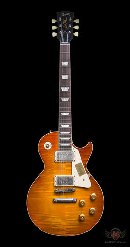 Gibson Custom Shop 2014 1958 Les Paul Reissue VOS - Sunrise Teaburst (673)
