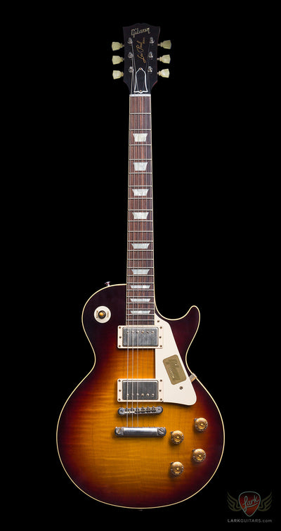 Gibson Custom 1959 Les Paul Reissue VOS - Faded Tobacco (902) - Available at Lark Guitars
