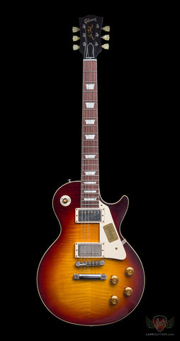 Gibson Custom 1959 Les Paul Reissue VOS - Bourbon Burst (159) - Available at Lark Guitars