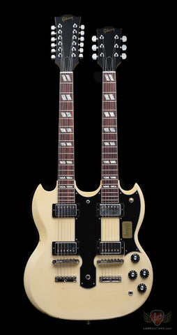 Gibson Custom Shop 2015 Limited Run Alex Lifeson EDS-1275 Double Neck - Aged Classic White (030)