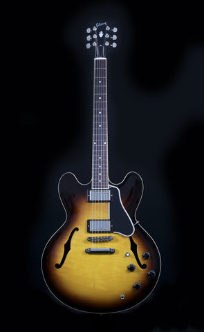 Gibson Custom Shop 2014 ES-335 Dot Figured - Vintage Sunburst (714)