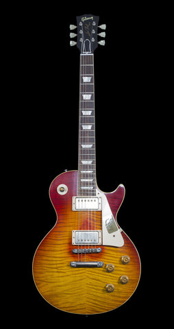 Gibson Custom Southern Rock Tribute 1959 Les Paul - Aged Reverse Burst (116) - Available at Lark Guitars