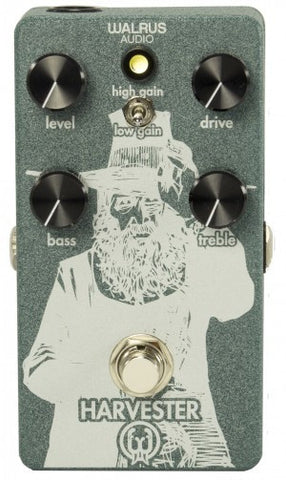 Walrus Audio Harvester High Gain Overdrive - Sea Green w/White Ink, Walrus Audio - Lark Guitars