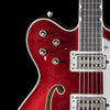 Gretsch USA Custom Shop Masterbuilt Super Broadkaster G6609T Aged Candy Apple Red (957)