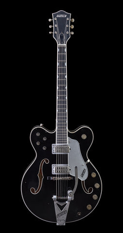 Gretsch USA Custom Shop Masterbuilt Super Broadkaster G6609T - Aged Black (934)