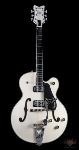 Gretsch USA Custom Shop G6136CS 59 White Falcon Masterbuilt by Stephen Stern, Black Binding Relic