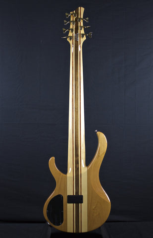 zSOLD - Pre-Owned Ibanez BTB7 7-String Bass - Natural (382)