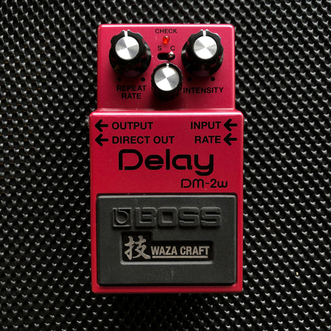 Pre-Owned Boss DM-2W Waza Craft Delay (964) - Available at Lark Guitars