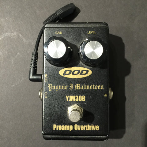 Pre-Owned DOD YJM308 Yngwie Malmsteen Signature Pre-Amp Overdrive (001) - Available at Lark Guitars