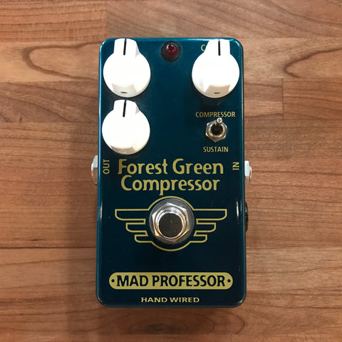 Pre-Owned Mad Professor Forest Green Compressor Hand-Wired