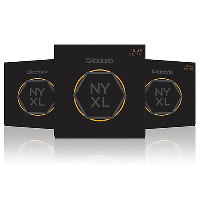 D'Addario NYXL1046-3P Nickel Wound Regular Light Electric Strings 10-46 - 3-Pack - Available at Lark Guitars