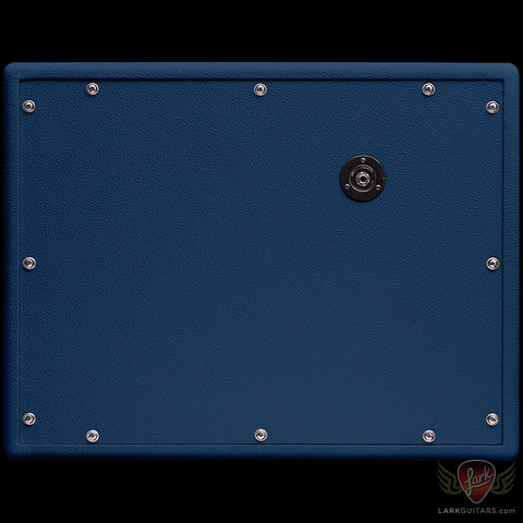 Jackson Ampworks 1x12 Dual Ported Cabinet w/G12M Creamback - Navy & Gold w/Tan Grill (014)