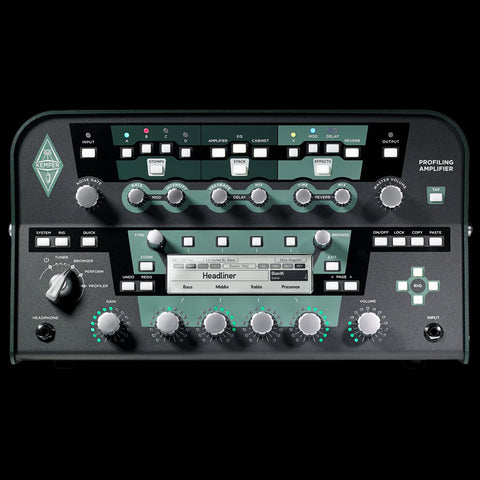 Kemper Profiler PowerHead and Profiler Remote - Black